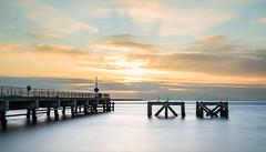 Eastney Sunrise (THE NUTTY PHOTOGRAPHER) Tags: southsea longexposure sea sunrise sky pier bigstopper