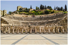 Roman Amphitheatre. Amman, Jordan-1 (nickyt739) Tags: roman amphitheatre ruins tourist explore amman jordan middle east levant history capital city steps architecture stone old amateur nikon dslr d5100