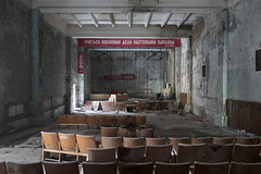 Duga Club (Sean M Richardson) Tags: abandoned chernobyl exclusion zone duga theater decay canon photography 24mm exploration urbex historic history soviet dark longexposure ukraine
