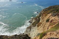 Catle Rock viewpoint (yuki_alm_misa) Tags: californiastateroute1 sr1 stateroute1 カリフォルニア ビクスビークリーク橋 bixbycreekbridge catlerockviewpoint california bixbybridge openspandrelarchbridge bixbycanyonbridge bigsur