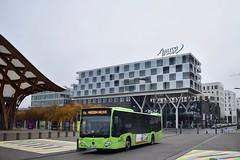 Metz - Mercedes-Benz Citaro C2 - 25/11/18 (Jérémy P.) Tags: metz moselle lorraine grandest mercedesbenz mercedes citaro c2 bus transports centrepompidoumetz