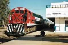 MEX1 C30-7 438 (stevenjeremy25) Tags: ferromex fxe fnm mexico train railway railroad c307 438 benjamin sonora
