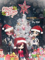 Feliz Natal!! (♪Bell♫) Tags: isul mao neko dal chibi risa rock merry christmas feliz natal groove doll