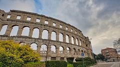 The Arena at Pula, Croatia. (Eadbhaird) Tags: croatia istria pula arena roman hrv