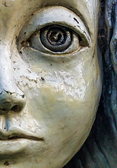 eye catcher (stevefge) Tags: beuningen winssen art kunst closeup sculpture portrait reflectyourworld nederland netherlands nl faces eyes