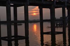 MYANMAR - AMARAPURA (1619) - U Bein Bridge (eso2) Tags: amarapura asia myanmar birmania