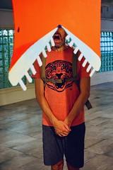 019/365: mouths wide open (Michiko.Fujii) Tags: aribayuaji selfportrait theesplanade mouth mouths chomp wideopen orange surrealportraiture visualpoetry visualart repetition poetic open wheneverythingfallsintoplace happyaccident goodtiming coincidence jaws teeth bridgingrealms singaporeartweek predators