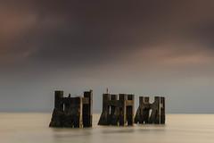 Essex Shoeburyness (daveknight1946) Tags: essex shoeburyness southend pier gogsberth water riverthames thamesestuary longexposure leefilters greatphotographers greaterphotographers