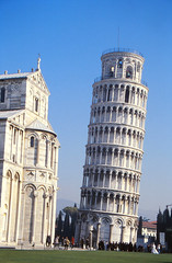 The Leaning Tower (demeeschter) Tags: italy toscana pisa architecture leaning tower medieval church basilica city town river cathedral religion roman unesco world heritage attraction building museum