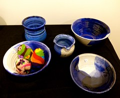 Pottery, Blue Cat Gallery & Studio (ali eminov) Tags: wayne nebraska galleries artgalleries bluecatartgallerystudio pottery pots ceramics dishes