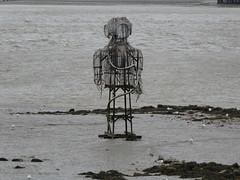 UK - London - Near Rainham - Sculpture in River Thames (JulesFoto) Tags: uk england northeastlondonramblers london rainham riverthames sculpture