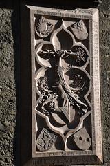 Margarethenkapelle relief (L. Charnes) Tags: austria salzburg stiftskirche church altstadt carving relief margarethenkapelle chapel