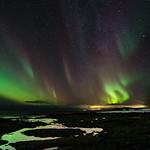 The Northern Lights at Strandarkirkja thumbnail