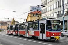BTS_7949_201811 (Tram Photos) Tags: ckd tatra t6a5 bratislava dopravnýpodnikbratislava dpb strasenbahn tram tramway električková mhd električka