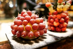Treasure the Love of Fresh Fruits~!! 🍇 #saturday #weekend #fresh #fruits #my_favourite_fruit #fruitsticks #click #treasure #the #love #of #grapes #quote #smile #likes (Gillaniez) Tags: saturday weekend fresh fruits myfavouritefruit fruitsticks click treasure love grapes quote smile likes