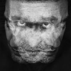 I miei demoni (nicolamarongiu) Tags: biancoenero blackandwhite monocrome esposizione multipla abstract selfie portait occhi eyes sguardo zorro sindone ego exposition autoritratto ritratto inquietante