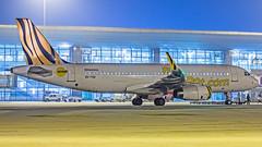 Scoot Airbus A320 9V-TRK Bangalore (BLR/VOBL) (Aiel) Tags: scoot tigerairways airbus a320 9vtrk bangalore bengaluru canon60d tamron70300vc night noflash