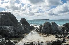 2017-04-26_08-17-35 Rocks and Water (canavart) Tags: sxm stmartin stmaarten fwi orientbeach orientbay beach ocean waves tropical caribbean