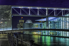 Berlin (Fotomanufaktur.lb) Tags: reichstag bundestag spree schölkopf schoelkopf nacht night water light