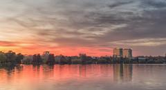 Herastrau Park at Sunset (Hattifnattar) Tags: bucharest herastrau citygate pentax fa43mm limited