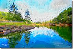 UMPQUA RIVER, OR (jawadn_99) Tags: sutherlin oregon tranquil quiet calm sober static peaceful usa park lake birds water trees reflections interrestingness clouds fallseason birdswaching panorama bond explore