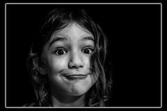 Funny (Luigi Pallara) Tags: canoneos1200d canon50mm portrait child ragazzina fanciulla kid ritratto smile sorrisi picture primo piano bellissima daughter facciabuffa funny funnyface blackandwhite biancoenero smille closeup saucy sbarazzina postproduction people young comical comic spassosa passionefotografica simpatica nice girl gorgeous beautifulgirl