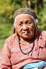 Portrait of Nepali woman in Sikkim (Nagarjun) Tags: pelling sikkim northeastindia greenery nature village walk ruralindia nepali