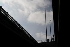 West Gate Freeway passes over Williams town Road (Marcus Wong from Geelong) Tags: westgatebridge bridge road freeway melbourne spotswood yarrariver fishermansbend boxgirder m1 cablestayed cablestayedbridge loweryarracrossing portmelbourne