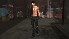 Que buena noche o.o (Sebastriano) Tags: arcback jeans man kaos tattoo unisex secondlife sl event tmd