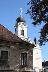Burghausen: Kloster Raitenhaslach (Helgoland01) Tags: burghausen bayern deutschland germany oberbayern kirche church raitenhaslach kloster zisterzienser barock fassade facade