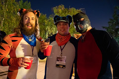 DSC09167 (Kory / Leo Nardo) Tags: pacanthro pawcon paw con pac anthro convention fur furry fursuit suiting mascot sona fursona san jose doubletree hotel california dance party deck animals costuming pupleo 2018 pup pupplay lycra spandex bodysuit