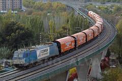 253.103 Toldos (Mariano Alvaro) Tags: 253 103 traxx comsa vagones tramesa rebolledo