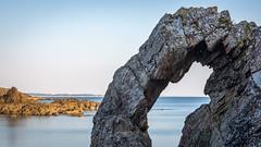 PlageRochePercee (Justin.S.) Tags: beach blog bretagne facebook flickr france instagram longexposure mer morbihan plage plagedelarochepercee poselongue publiee rochenaturelle rocher sea