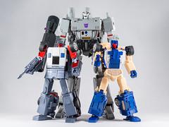 DSC00206 (KayOne73) Tags: sony a7riii nikon 40mm f 28 micro macro transformers toys figures 3rd party robot action masterpiece mp megatron it01 infinite transformation x transbots flipout wildrider stuntacon