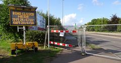Job done (stevenbrandist) Tags: crane birstall leicestershire leicester bridge road truck sign