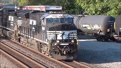 Norfolk Southern coal train (29 September 2018) (Marion, Ohio, USA) 5 (James St. John) Tags: marion ohio norfolk southern freight train trains ns