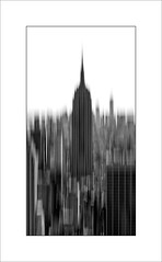 What you would see if you fell from the Top of the Rock! (tkimages2011) Tags: topoftherock empirestatebuilding icm arty contemporary creative mono monochrome motion movement manhattan nyc newyork usa abstract