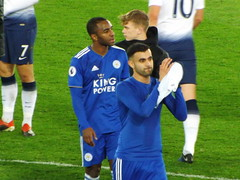 After the game (lcfcian1) Tags: leicester city tottenham hotspur lcfc thfc king power stadium kingpowerstadium football sport england spurs epl bpl premier league premierleague rachidghezzal ricardopereira