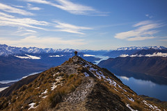 Lookout (Matt Champlin) Tags: break christmas holiday winter cold frozen chilly newzealand zealand nz travel adventure climb mountains roys peaks royspeak nature women paige courtney me life lookout amazing incredible canon 2018