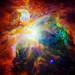 Image of a nebula taken using a NASA telescope -Original from NASA. Digitally enhanced by rawpixel.