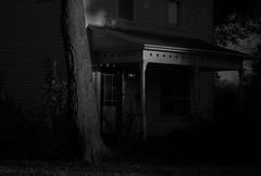 Old House Up The Street (Tim @ Photovisions) Tags: house monochrome blackandwhite beatrice nebraska building fujifilm xt2 fuji