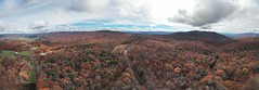 Cherokee National Forest Panoramic 435 (Steve4343) Tags: steve4343 nikon 7200 appalachian trail cherokee national forest red green blue yellow orange white clouds sky beautiful tennessee autumn beauty johnson county lake watauga cloud colorful woods garden gardens happy leaves rocks wildlife landscape mountain tree trees grass water wood butler summer spring macro flower flowers at 435 dji mavic air drone