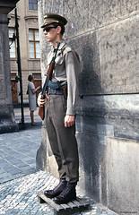 Planton (philippeguillot21) Tags: planton homme man mensch garçon boy gardien château castle prague praha capitale tchécoslovaquie tchéquie europe pixelistes voigtländer