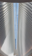The Freedom Tower though the Oculus (Jeremiah True) Tags: newyorkcity vacation architecture anniversary getawaywalking worldtradecenter oculus nyc