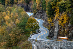 Autumn Drive (ap0013) Tags: road autumn fall mountain newyork portjervis color winding windingroad countryroad autumnroad