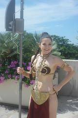 SDCC 2018 - 1804 (Photography by J Krolak) Tags: cosplay costume masquerade comicconvention sdcc2018 leiasmetalbikini slaveleia princessleia starwars leia