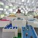 Model of Lego (Denmark) project with bobble hat by Bjarke Ingels