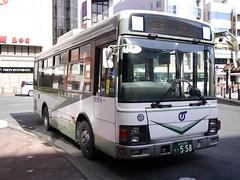 岩手県交通バス(いすゞエルガ) (しまむー) Tags: panasonic lumix dmcgx1 gx1 sigma art 19mm f28 dn round trip train