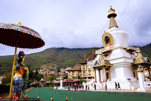 Thimphu - National Memorial Chorten