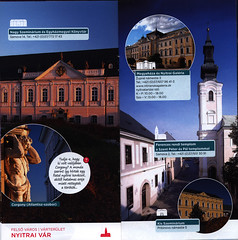 Nitra - Turisztikai információk, fedezd fel a helyet, éld át az élményt; 2017_3, Slovakia (hungarian language) (World Travel Library - The Collection) Tags: nitra nyitra 2017 historical architecture building nice slovakia slovenska brochure world travel library collection holidays tourism touristik touristische trip vacation papers prospekt catalogue katalog photos photo photography picture image collectible collectors sammlung recueil collezione assortimento colección ads gallery galeria documents dokument broschyr esite catálogo folheto folleto брошюра broşür